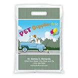 Medical Arts Press® Veterinary Personalized Full-Color Bags; 9x13, Dog Cat Car