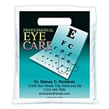 Medical Arts Press® Eye Care Personalized Full-Color Bags; 7-1/2x9, Blue Eye Chart