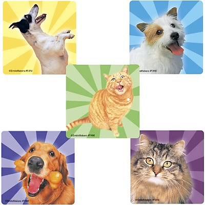 Smilemakers® Happy Pets Stickers