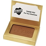 Custom Chocolate Cookie with Business Card Holder