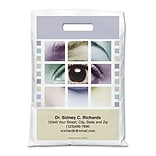 Medical Arts Press® Eye Care Personalized Full-Color Bags; 11x15, Eye in Squares