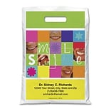 Medical Arts Press® Dental Personalized Full Color Bags; 9x13, Smile