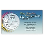 Medical Arts Press® Dual-Imprint Peel-Off Sticker Appointment Cards; Stay Healthy