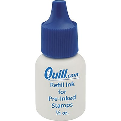 Refill Ink for Quill Brand® Pre-Inked Stamps; Blue