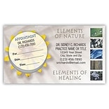 Medical Arts Press® Dual-Imprint Peel-Off Sticker Appointment Cards; Elements