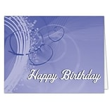Medical Arts Press® Traditional Note Cards; Birthday,  Personalized