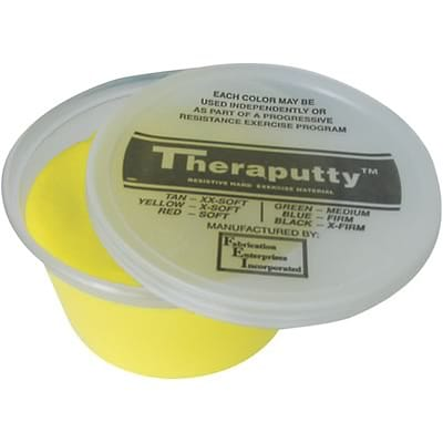 Cando® Theraputty™ 1Lb Yellow Extra Soft