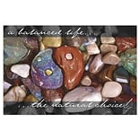 Medical Arts Press® Chiropractic Greeting Cards; Colored Stones,  Personalized