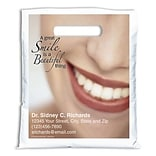 Medical Arts Press® Dental Personalized Full-Color Bags; 7-1/2x9, Smile is Beautiful
