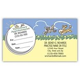 Medical Arts Press® Dual-Imprint Peel-Off Sticker Appointment Cards; Playing Pets