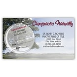 Medical Arts Press® Dual-Imprint Peel-Off Sticker Appointment Cards; Naturally