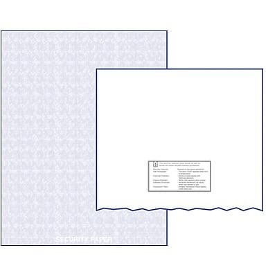Medical Arts Press® Tamper-Resistant Laser Rx Paper; 1 RX Blank/Sheet, High Security