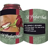 Custom Printed Full-Color Collapsible Koozie®; Perfect Smile