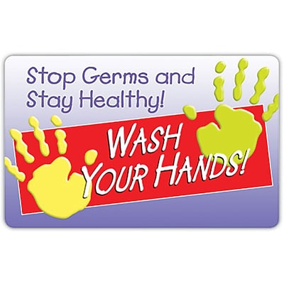 Medical Arts Press® Hand Hygiene Signs; Stay Healthy