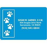 Medical Arts Press® Color Choice Stickies™; Paw Prints