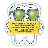 Medical Arts Press® Dental Die-Cut Magnets; Tooth Guy