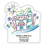 Medical Arts Press® Die-Cut Stickies™; Dentist Office