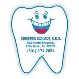 Medical Arts Press® Die-Cut Stickies™; Tooth Shapped Happy Face
