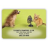 Medical Arts Press® Full Color 2x3 Stickies™; Dog/Cat/Fan