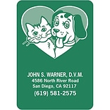 Medical Arts Press® Color Choice Stickies™; Heart/Pets