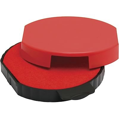 Self-Inking Stamp Replacement Pad for T5415; Red