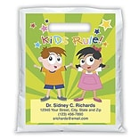 Medical Arts Press® Generic Personalized Full-Color Bags; 7-1/2x9, Kids Corner