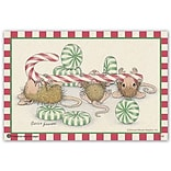 House Mouse Designs® Standard 4x6 Postcards; Peppermints