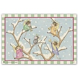 House Mouse Designs® Standard 4x6 Postcards; Trumpet Mice