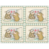 House-Mouse Designs® Laser Postcards; First Aid Mouse