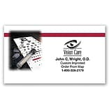 Medical Arts Press® Eye Care Business Card Magnets; Eye Chart
