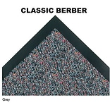 Classic-Berber Wiper Entry Mat 3x5 Grey
