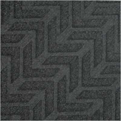 Crown® EcoPlus™ Scraper/Wiper Entrance Mat; 24x35, Polyester, Charcoal