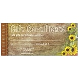 Medical Arts Press® Gift Certificates; Sunflower