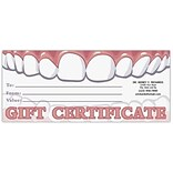Medical Arts Press® Gift Certificates; Teeth
