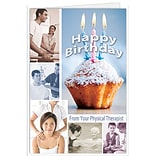 Medical Arts Press® Chiropractic Birthday Cards; Physical Therapist, Happy Birthday,  Blank Inside