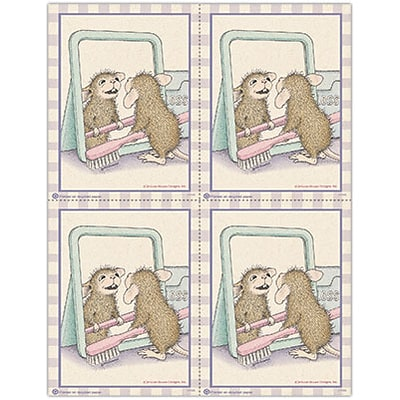 House-Mouse Designs® Laser Postcards; Mirror