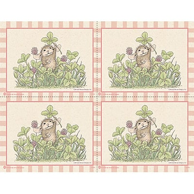 House-Mouse Designs® Recycled Laser Postcards; Clovers