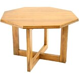 Regency® 30x48 Oak Octagon Table