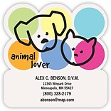 Medical Arts Press® Veterinary Die-Cut Magnets; 3x2-1/2, Animal Lover