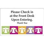 Medical Arts Press® Veterinary Full-Color Message Signs; Dog & Cat in Squares