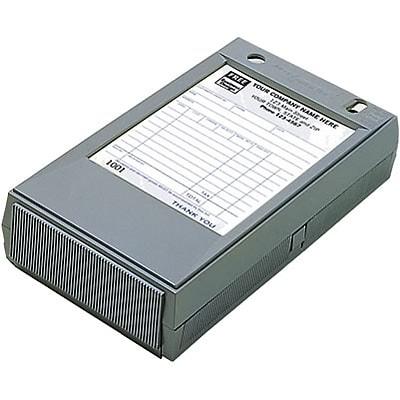 4x6 plastic register sales form holder quill com