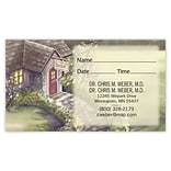 Medical Arts Press® Medical Full-Color Smooth Appointment Card; Doctors Cottage