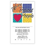 Medical Arts Press® Medical Full-Color Appointment Card; Patient People