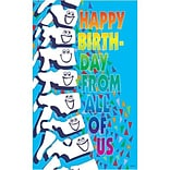 Medical Arts Press® Chiropractic Oversized Postcards; Happy Birthday from All