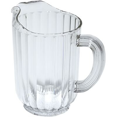 Rubbermaid® Bouncer® Pitcher; 72 oz., Clear, Polycarbonate
