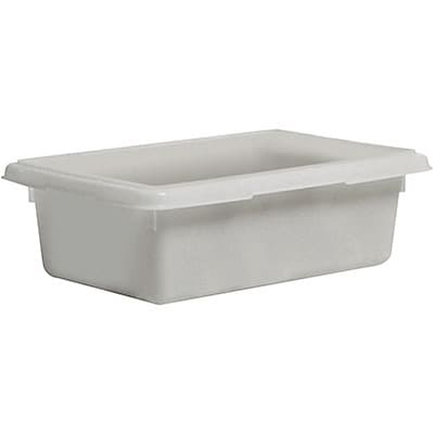 Rubbermaid® Food Storage Box, 12-1/2Gal., 9 High, White