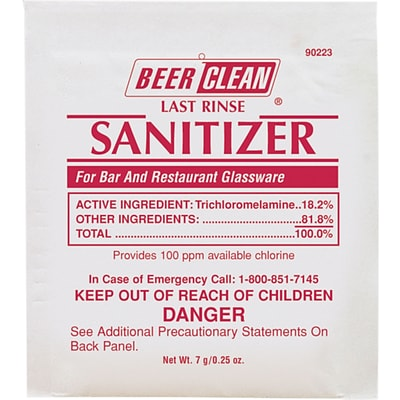 Beer Clean® Last Rinse Sanitizer