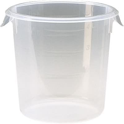 Rubbermaid® Round Storage Containers; 2qt.