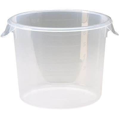 Rubbermaid® Round Storage Container; 22qt.