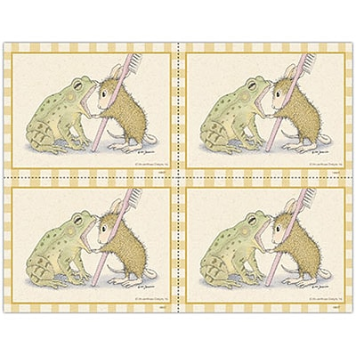 House-Mouse Designs® Laser Postcards; Frogs Mouth
